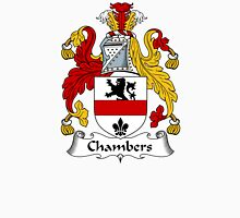 Chambers Coat of Arms / Chambers Family Crest Unisex T-Shirt