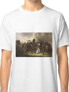 John Mix Stanley - Osage Scalp Dance. People portrait: party, woman and man, people, family, female and male, peasants, crowd, romance, women and men, city, home society Classic T-Shirt
