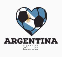 Argentina Soccer One Piece - Short Sleeve