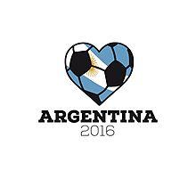 Argentina Soccer Photographic Print