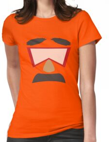 Bob Goggles Womens Fitted T-Shirt
