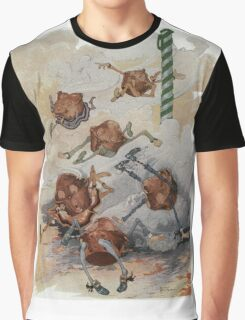 John R. Neill - Personified Muffins Tumbling Out Of Steam. Child portrait: cute baby, kid, children, pretty angel, child, kids, lovely family, boys and girls, boy and girl, mom mammy mam, childhood Graphic T-Shirt