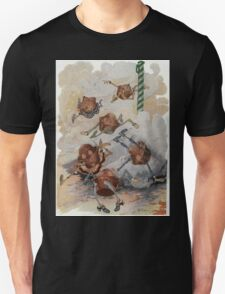John R. Neill - Personified Muffins Tumbling Out Of Steam. Child portrait: cute baby, kid, children, pretty angel, child, kids, lovely family, boys and girls, boy and girl, mom mammy mam, childhood Unisex T-Shirt