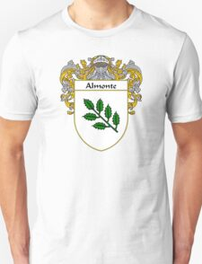 Almonte Coat of Arms/Family Crest Unisex T-Shirt