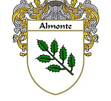 Almonte Coat of Arms/Family Crest by William Martin