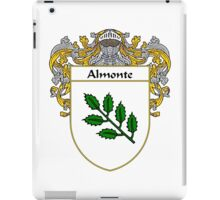 Almonte Coat of Arms/Family Crest iPad Case/Skin