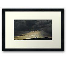 ©HCS Post Sunset IA Framed Print