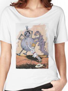 John R. Neill - Putting Tik Tok Back On His Feet.. Child portrait: cute baby, kid, children, pretty angel, child, kids, lovely family, boys and girls, boy and girl, mom mum mammy mam, childhood Women's Relaxed Fit T-Shirt