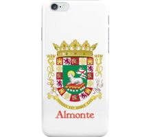 Almonte Shield of Puerto Rico iPhone Case/Skin