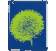 Dandelion Pop in Green iPad Case/Skin