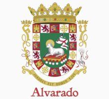 Alvarado Shield of Puerto Rico Kids Tee