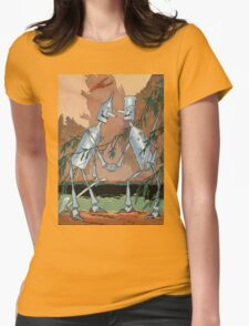 John R. Neill - The Tin Woodman And His Twin. Child portrait: cute baby, kid, children, pretty angel, child, kids, lovely family, boys and girls, boy and girl, mom mum mammy mam, childhood Womens Fitted T-Shirt