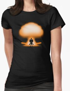 THE BOMBER Womens Fitted T-Shirt