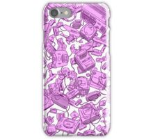 Retro Gamer - Pink iPhone Case/Skin