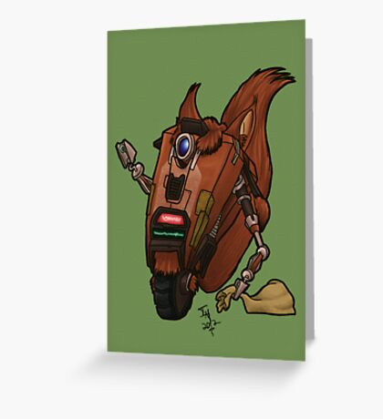 CL4P-TP gone nuts Greeting Card