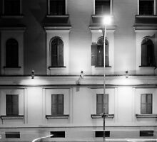 Facade and the lights by dardanvukaj