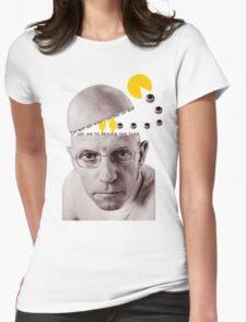 Michel Foucault Womens Fitted T-Shirt
