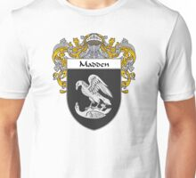 Madden Coat of Arms/Family Crest Unisex T-Shirt