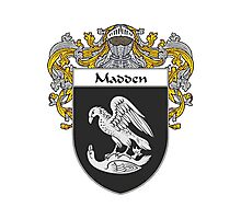 Madden Coat of Arms/Family Crest Photographic Print