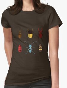 Cute Bugs Womens Fitted T-Shirt