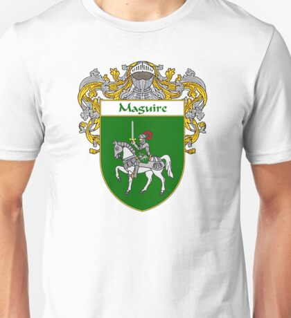 Maguire Coat of Arms/Family Crest Unisex T-Shirt