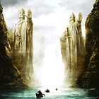 The Lord of the Rings: Argonath. by Adam Dens