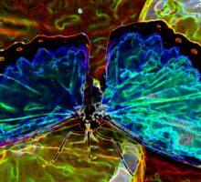 Aura of a Butterfly Sticker
