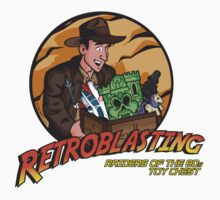 RetroBlasting Raiders of the 80s Toy Chest One Piece - Short Sleeve