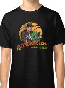 RetroBlasting Raiders of the 80s Toy Chest Classic T-Shirt