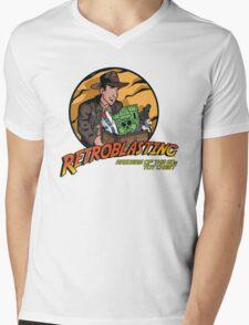 RetroBlasting Raiders of the 80s Toy Chest Mens V-Neck T-Shirt