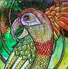 Laughing Parrot by Lynnette Shelley