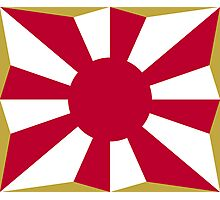Flag of Japan Ground Self-Defense Force  Photographic Print