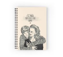 Home is where the heart is ~ Spiral Notebook