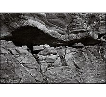Rockform at Livermore Falls Photographic Print