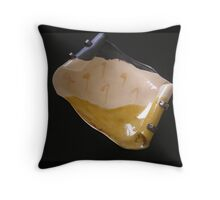 Art Dish Throw Pillow
