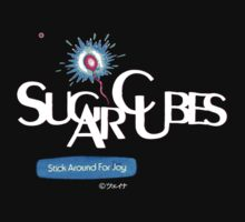 SugarCubes tour shirt design by Shaina Karasik