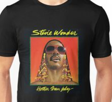Hotter Than July by Stevie Wonder Unisex T-Shirt