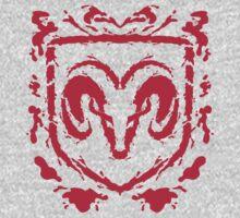Ramblot (red) One Piece - Long Sleeve
