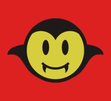 Vampire / Dracula Smiley One Piece - Short Sleeve
