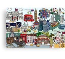 Queen's London Day Out Canvas Print