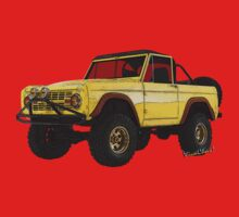 Yellow Dog Bronco T-Shirt!!! by ChasSinklier