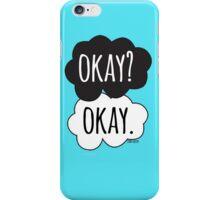 Okay? Okay Cloud Design iPhone Case/Skin