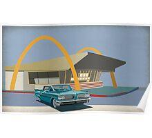 Mcdonalds and pontiac 1963 Poster