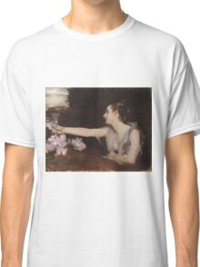 John Singer Sargent - Madame Gautreau Drinking A Toast. Woman portrait: sensual woman, girly art, female style, pretty women, femine, beautiful dress, cute, creativity, love, sexy lady Classic T-Shirt