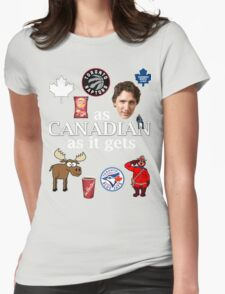 As Canadian as it Gets Canada Day Item Womens Fitted T-Shirt