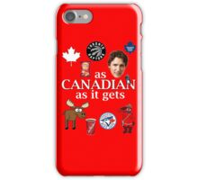 As Canadian as it Gets Canada Day Item iPhone Case/Skin