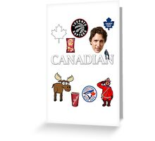 As Canadian as it Gets Canada Day Item Greeting Card