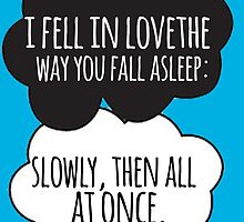 Fell In Love Cloud Design by Alyssa  Clark