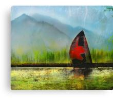 Ghost Ship Canvas Print