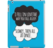 Fell In Love Cloud Design iPad Case/Skin